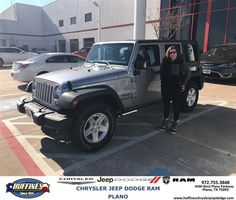 https://flic.kr/p/QtMosp | Huffines Chrysler Jeep Dodge RAM Plano Customer Review | Misty is happy having a Jeep again  Misty, deliverymaxx.com/DealerReviews.aspx?DealerCode=PMMM&R...