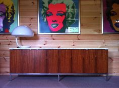 Florence Knoll credenza.