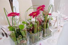 Farbenfrohe deko für den Frühling