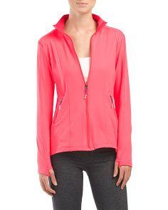 Full Zip Jacket Spa Day, Tj Maxx, Active Wear, Zip, Stylish, Jackets, Fashion Design, Shopping, Women