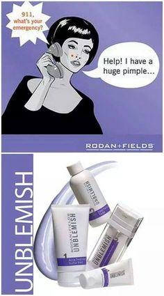 Pimple, blemishes, breakouts, acne & acne scars use UNBLEMISH  lookgr8.myrandf.com