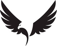 Eagle icon in black - Project - Eagle Icon, Eagle Art, Eagle Wing Tattoos, Tattoo Eagle, Eagle Drawing, Eagle Pictures, Eagle Vector, Wing Tattoo Designs, Eagle Wings