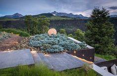 Dramatically designed contemporary mountain home in Telluride