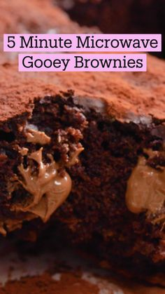 Fun Baking Recipes, Microwave Recipes, Sweet Recipes, Snack Recipes, Cooking Recipes, Easy Brownie Recipes, Delicious Desserts, Yummy Food, Tasty