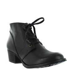 56a502276821 Marta Jonsson Leather lace up ankle boots
