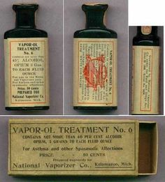 At 40% alcohol plus 3 grams of opium per tablet. It didn't cure you... but you didn't care!