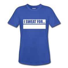 Writeable Declare what you SWEAT FOR Men's Performance T-Shirt