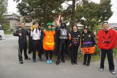 Japanese staff Halloween