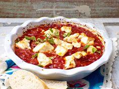 Expressauflauf mit Feta und Tomaten