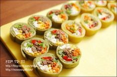 Baked Potato, Sushi, Food And Drink, Baking, Ethnic Recipes, Korea, Heart, Food And Drinks, Food Food