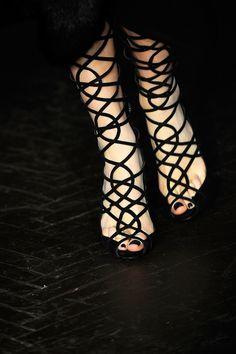 L'Wren Scott, fall 2012 #nyfw #runway #details #shoes