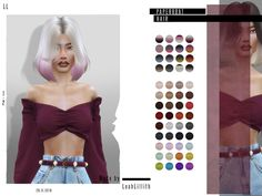 Sims 4 Hairs ~ The Sims Resource: Paperboat Hair by LeahLillith The Sims 4 Pc, Sims Four, My Sims, Sims 4 Cc Eyes, Sims 4 Cc Skin, Sims 4 Download Free, Sims 4 Tsr, Sims 4 Black Hair, Pelo Sims