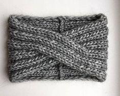 Knit Turban-Alpaca Wool Headband-Women headband-Turban | Etsy Headband Laine, Knitted Headband, Wide Headband, Crochet Headbands, Winter Headbands, Headbands For Women, Handmade Headbands, Handmade Clothes, Bandeau Torsadé