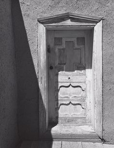 Sacristy Door, Church, Northern New Mexico (ca. 1958)