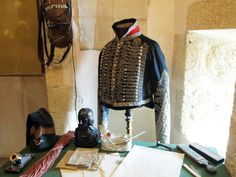 Uniform of  Testot Ferry, a very distinguished French Cavalry veteran of the armies of the First French Republic, First French Empire and Bourbon Restoration.  He was called out by Napoleon personally on three separate occasions for his bravery in battle. A well-known figure of the Napoleonic wars during that time, but is rarely heard of today. A hero truly lost to history.
