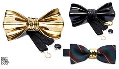 Cor Sine Labe Doli - Ceramic Bowties, Ties and Handkerchief