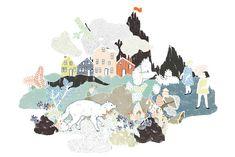 L'art de paper i de la il·lustració de Julia Spiers