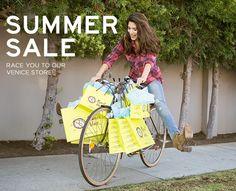 PLANET BLUE: venice summer sale event! 50% off aug 16-19