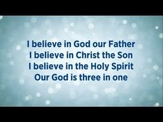 This I Believe ♫♩♭♬♪❤️✝❤️ {The Creed} Worship by Hillsong