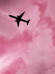 airplanes, colors, pink, pink grunge, pink aesthetic