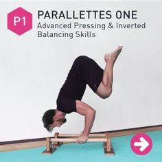 The 5 videos in this free parallettes routine cover everything from prepping your body, to warm-ups, exercises, cool-downs, even programming. Check it out.