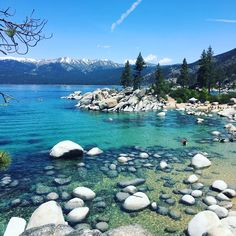 Sand Harbor has many beaches to serve your particular needs. The Main Beach is feet long and is popular for swimming and sunbathing as well as. Sand Harbor Lake Tahoe, Sand Lake, Summer Travel, Places To Go, Beautiful Places, Paradise, Around The Worlds, Adventure, Usa