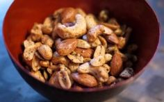 Spiced Cocktail Nuts from Mixbakestir.com
