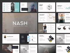 """查看此 @Behance 项目:""""NASH Keynote Presentation…"""