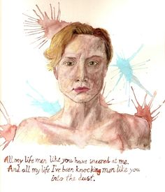 Love her character.    Brienne of Tarth