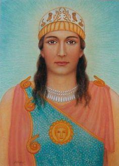 Pallas Athene. Goddess of Wisdom