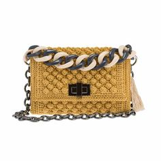 Discover thousands of images about Leto handmade bag in golden ochre By Ddora Handmade Handbags, Handbags On Sale, Handmade Bags, Luxury Handbags, Wholesale Purses, Knitted Bags, Crochet Bags, Frame Bag, Evening Bags
