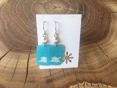 A personal favorite from my Etsy shop https://www.etsy.com/listing/103650374/recycled-starbucks-gift-card-earrings
