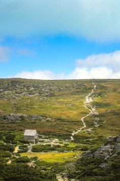 A small shack we stumbled upon while hiking Cradle Mountain in Tasmania.