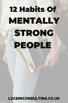 12 habits of mentally strong people. Learn how to be strong minded and develop the mental strength to build self confidence and take on life's challenges. #motivation #selfcare #mindset #strength #mindfulness #selfconfidence #selfdevelopment #personalgrowth Self Confidence Tips, Confidence Building, Self Development, Personal Development, Mentally Strong, Mental Strength, Life Challenges, Growth Mindset, Self Esteem