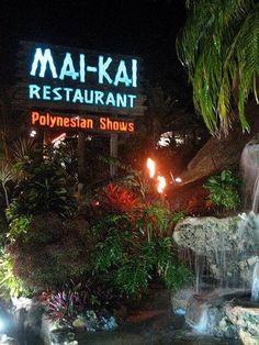 Mai Kai Restaurant, Ft. Lauderdale Florida