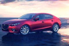 The 2014 #Mazda3 in Soul Red