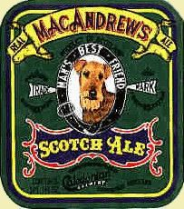 MacAndrew's Scotch Ale. Scottish-Style Export Ale. Date: May 5, 1996 (#1444). Package: bottled. Place: Kamuela Liquor Store, Kamuela HI