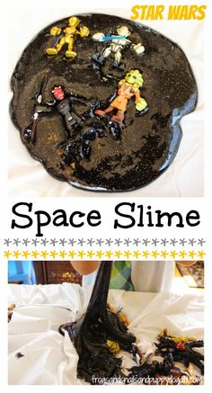 Star Wars Space Slime...so easy and so COOL!