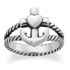 New Faith, Hope & Love Twisted Ring from James Avery Jewelry