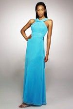 This unique design called  Wonderful High Collar Turquoise Wear at Ankle Hem  which can show females' curve perfectly. This dress made of Chiffon fabric, featuring on Ruche embellishment and its High Collar neckline is the bestseller of Classic Bridesmaid Dresses And we also offer various of wedding party dresses in the latest designs leading the fashion trends. - $124.19