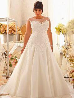 Vestidos de novia sencillos para gorditas medellin