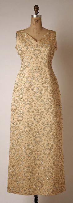 Evening Dress    Hubert de Givenchy, early 1960s    The Metropolitan Museum of Art