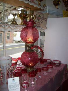 Fenton Lamp Glass & Lamps