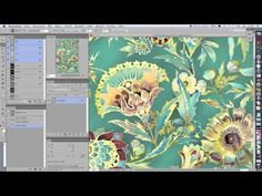 Patterns - All drop repeat with photoshop - No Plugin - YouTube