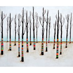 Trees by Lisa Congdon