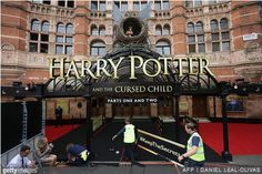 New Harry Potter play opens the door to a world of accessibility. https://aimva.org/teachers/blog/2016/08/01/harry-potter-play/?utm_source=Pinterest&utm_campaign=AIMVASM #accessible #audiobooks #kidlit  (Photo by Getty Images: http://www.gettyimages.com/detail/584709660)