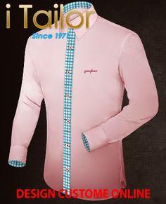 Design Custom Shirt 3D $19.95 kostuums Click http://itailor.nl/suit-product/kostuums_it48567-11.html