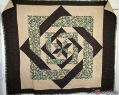Interlocking frames - Great for a big #quilt block