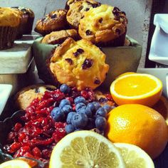 Jimmy the Baker's summer muffin assortment