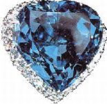 "Eugene Blue Heart _ Blue Diamonds _ occupy a separate niche among all the diamonds in the world and considered one of the rarest gemstones in the world. The very first blue diamonds were found in India in the mid-1600s - Kollur mine, ""diamond city"" Golconda. Later blue diamonds were extracted only in South Africa in the Cullinan diamond mine, which now generates these masterpieces of nature. Today, diamonds are blue and the Argyle mine in Australia."